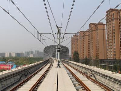 郑州城郊铁路二期基建电项目