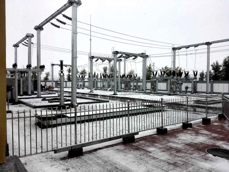 赤峰巴林左旗隆昌66kV变电站改造工程