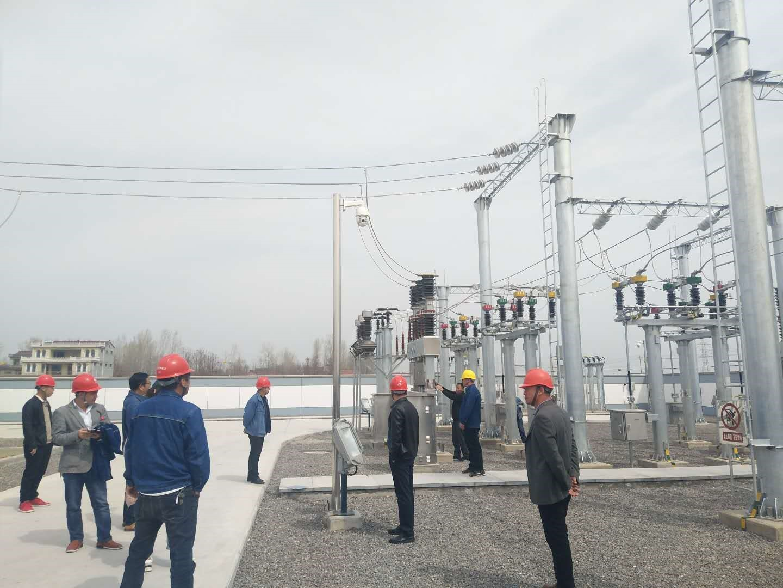 我公司承建的周口鹿邑任集35千伏输变电工程顺利