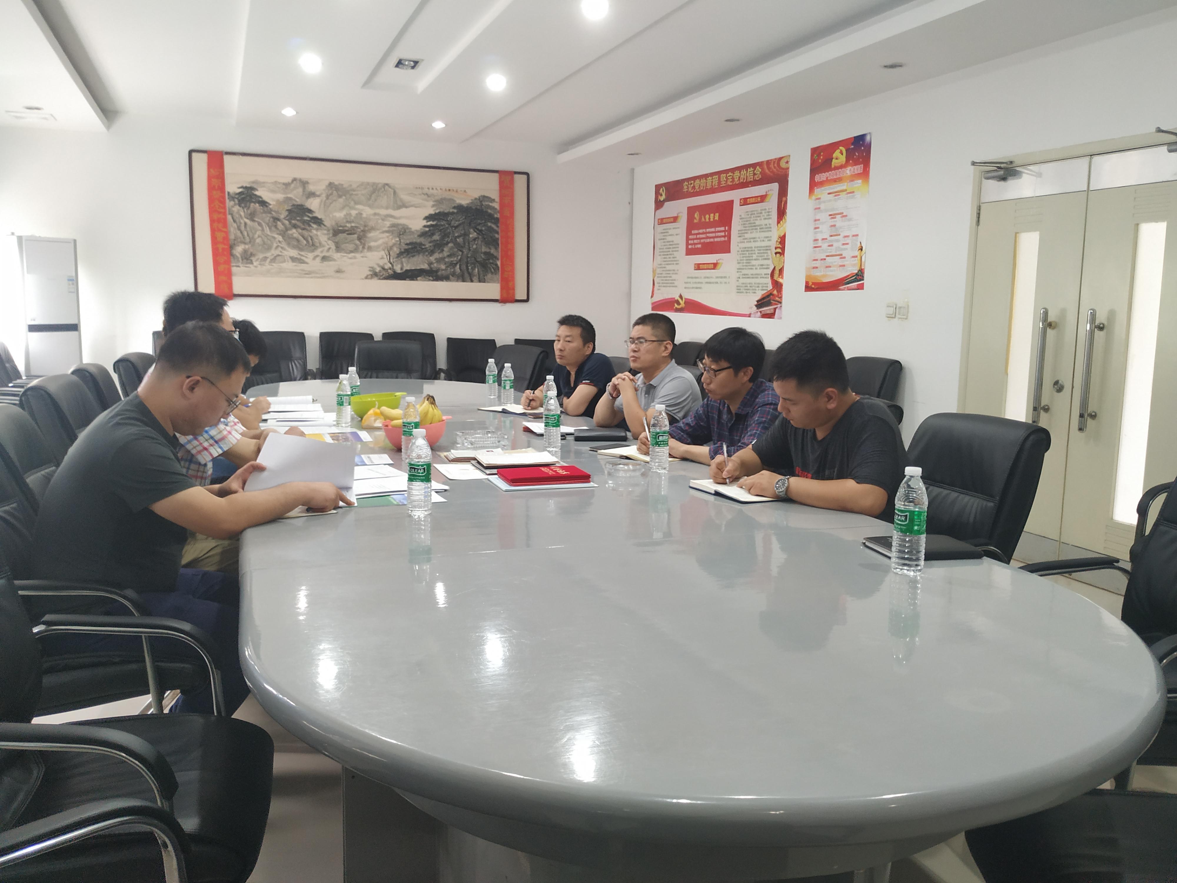 河南孟电集团莅临我公司考察指导工作